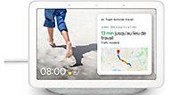 Assistant Google Nest hub blanc