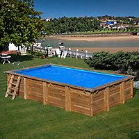 Bâche à bulles Sunbay pour piscine Carra 2,72 x 2,72 m