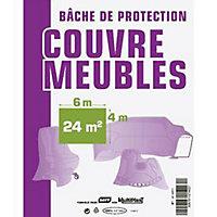 Bâche de protection meuble 4 x 6 m