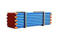 BâtiDrain CR4, drainage avec gravier, ø90mm L.2 m