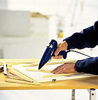 Bâtons de colle pour bois. Parfait pour les travaux de fixation et de réparation. Paquet de 14 bâtons courts.