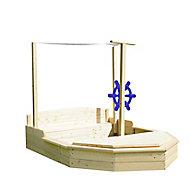 Bac à sable bateau