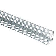 Baguette d'angle intérieur fine couche en acier galvanisé 2500x22x22mm