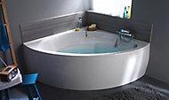 Baignoire d'angle 140 x 140 cm Form Oxygen