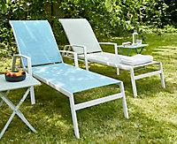 Bain de soleil Swindon bleu clair