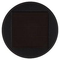 Balise solaire à piquer LED noir H.28 cm IP44