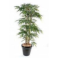 Bambou tronc large artificiel h.180 cm