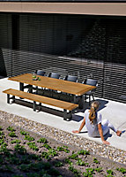 Banc de jardin Sophie Yasmani 300 cm
