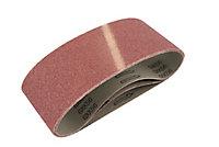 Bande abrasive Universal 76 x 533 mm, Grain 120 - 3 pièces