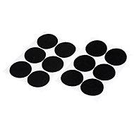 Bande auto-aggrippante format rond noir Diall 46 mm - 6 pièces