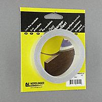Bande de chant effet alu gris 42 mm x 5 m Cooke & Lewis (vendue à la pièce)