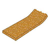 Bande liège cloison + plafonds Placo Caroplatre 50mm L.1 m