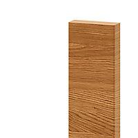 Bandeau de four GoodHome Chia Marron l. 59.7 cm x H. 5.8 cm