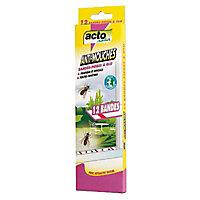 Bandes de pièges anti mouches x 12