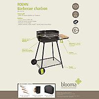 Barbecue charbon de bois Blooma Foehn