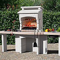 Barbecue fixe béton Makalu Chrystal