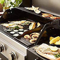 Barbecue gaz 3 brûleurs GoodHome Owsley