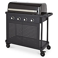 Barbecue à gaz GoodHome Rockwell 400 noir