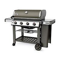 Barbecue gaz Weber Genesis 2 E410 gris + plancha