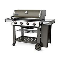 Barbecue gaz Weber Genesis II E-410 gris + plancha