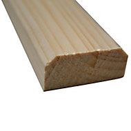 Barre écharpe sapin 2 x 4,5 x 238 cm