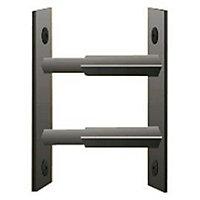 Barre de sécurité Blanche 30/55 cm Mottez pour fenêtre 26/39 cm