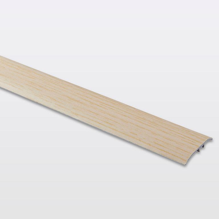 barre de seuil en aluminium décor bois goodhome 37 x 930