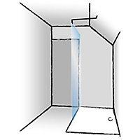 Barre de stabilisation 102,8 cm pour paroi de douche - Schulte DécoDesign
