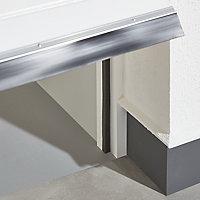 Bas de porte de garage mousse Diall gris 650 cm