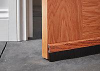 Bas de porte sol alu brossé Diall effet bois L.100 cm