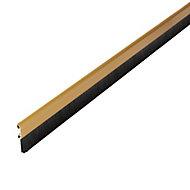 Bas de porte sol alu brossé Diall or L.100 cm