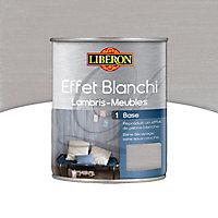Base effet blanchi lambris et meubles Liberon petit gris mat 1L