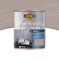 Base effet blanchi lambris et meubles Liberon toile de lin mat 1L