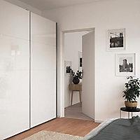 Bloc-porte Alpille blanc H.204 x l.73 cm, réversible