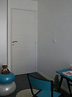 Bloc-porte gravé horizontal 90 cm poussant gauche