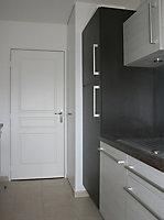 Bloc-porte isolant 3 panneaux H.204 x l.93 cm,poussant gauche