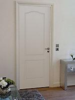 Bloc-porte post-formé 2p 63cm poussant droit, huisserie 67mm