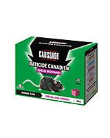 Bloc raticide canadien Espèces résistantes Caussade
