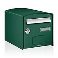 Boîte aux lettres 1 porte Decayeux Dôme Vert