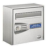 Boîte aux lettres 1 porte Decayeux Littoral Inox