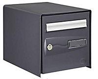 Boîte aux lettres 1 porte Decayeux Oceanis Gris Ral 7039