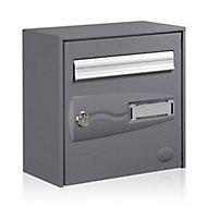Boîte aux lettres 1 porte Decayeux Urbanis Gris Ral 7015