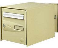 Boîte aux lettres 2 portes Decayeux Oceanis Beige Ral 1001