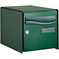 Boîte aux lettres 2 portes Lys Vert