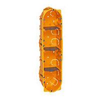Boîte d'encastrement pour cloison sèche 4 postes Legrand