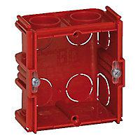 Boîte d'encastrement simple carré maçonnerie Legrand P. 40 mm