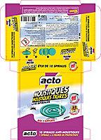Boîte de 10 spirales anti-moustiques