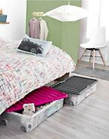 Boîte de dessous de lit Ventili grise