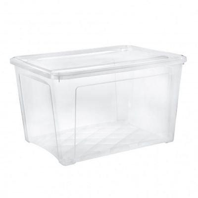 Boite De Rangement Avec Couvercle Combibox 145l Transparent Castorama