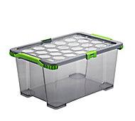Boîte de rangement en plastique 44 L Evo